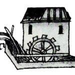 Dessin moulin à eau